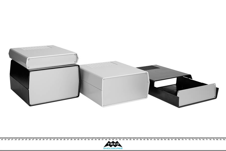 Aus  Front Panel  Prodotti  Contenitori per elettronica - Plastica
