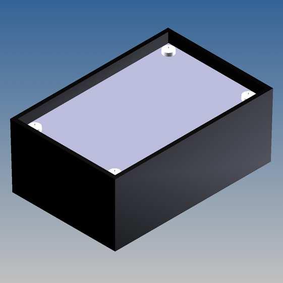 P  Top Cover  Prodotti  Contenitori per elettronica - Plastica